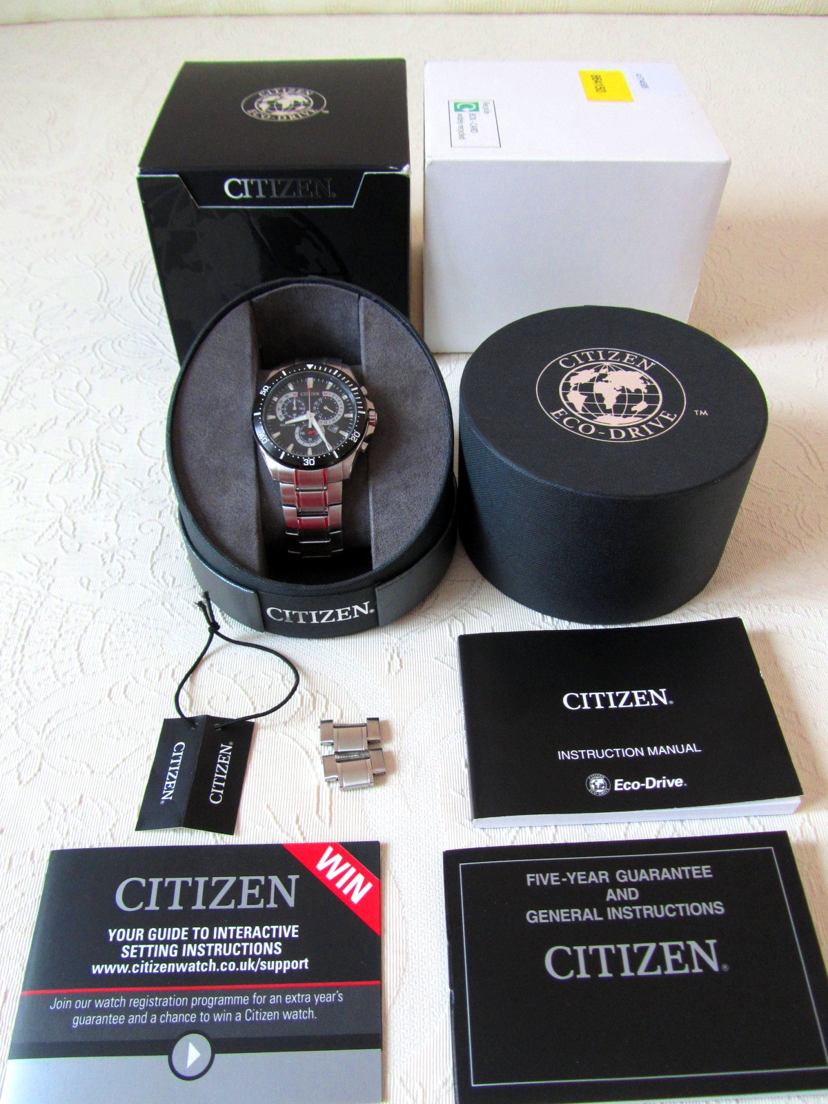 Citizen Eco Drive Chronograph � ���� ���