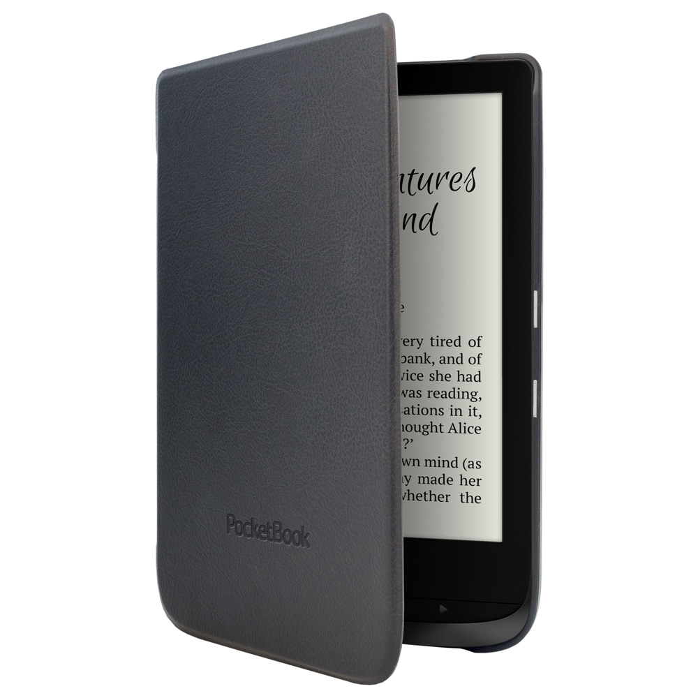 Калъф за eBook четец PocketBook WPUC-616-S-BK за Touch Lux 4 и Basic Lux 2, Black, PBC616SBK